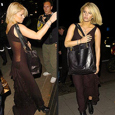 THAT'S HER BAG photo | Jessica Simpson