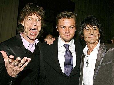 START &#39;EM UP photo | Leonardo DiCaprio, Mick Jagger, Ronnie Woods