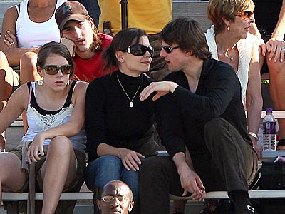 THE BENCHWARMERS photo | Katie Holmes, Tom Cruise