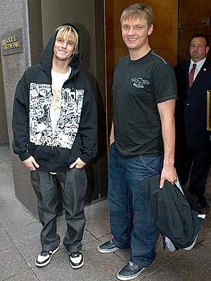BROTHERLY LOVE  photo | Aaron Carter, Nick Carter