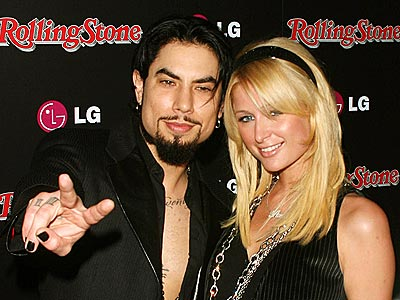 HOT DUO photo | Dave Navarro, Paris Hilton