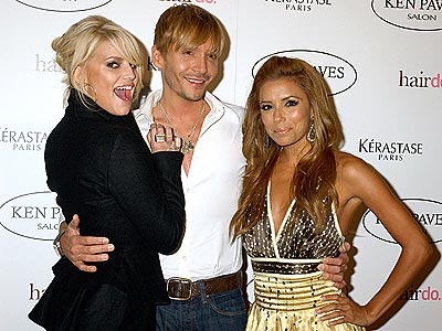 STYLE SQUAD photo | Eva Longoria, Jessica Simpson, Ken Paves