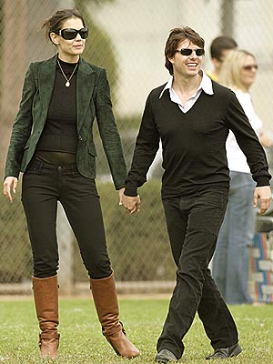 FIELD DAY  photo | Katie Holmes, Tom Cruise