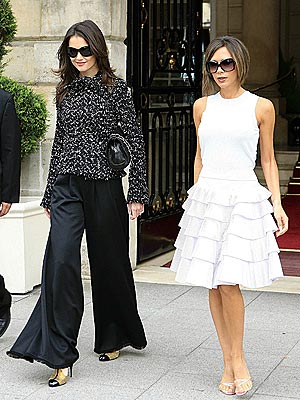 GIRLS' DAY OUT  photo | Katie Holmes, Victoria Beckham