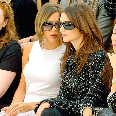 SHADY LADIES photo | Katie Holmes, Victoria Beckham