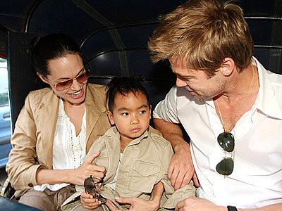 STAR ATTRACTION photo | Angelina Jolie, Brad Pitt, Maddox Jolie-Pitt