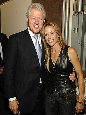 SOMETHING TO TALK ABOUT  photo | Bill Clinton, Sheryl Crow