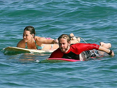 SYNCRONIZED SWIM photo | Dominic Monaghan, Evangeline Lilly