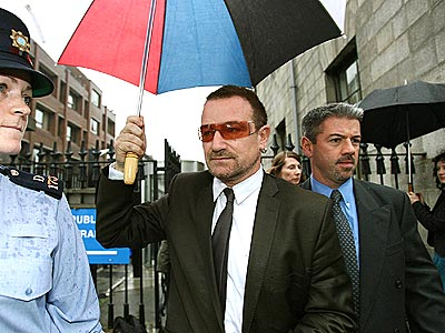 HIS DAY IN COURT  photo | Bono