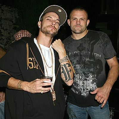 INKED UP photo | Chuck Liddell, Kevin Federline