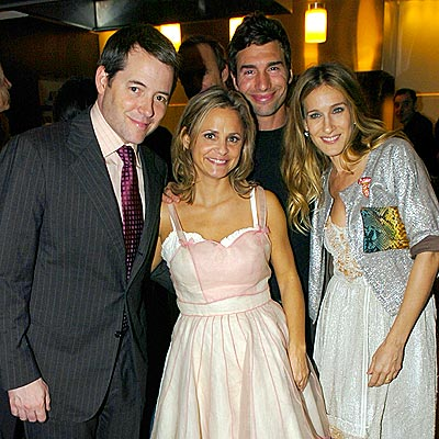 STRANGER THAN FICTION  photo | Amy Sedaris, Matthew Broderick, Paul Dinello, Sarah Jessica Parker