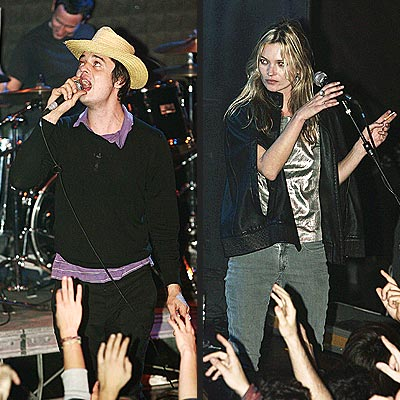 DUET PARTNERS  photo | Kate Moss, Pete Doherty
