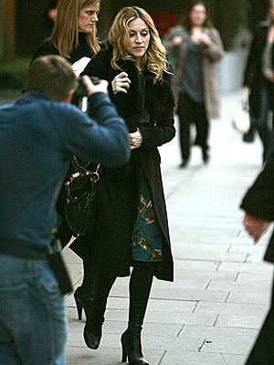 PUSHING AHEAD  photo | Madonna