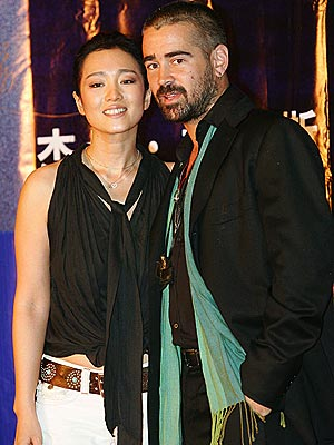 WORLD TOUR  photo | Colin Farrell, Gong Li