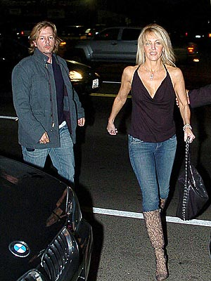 STILL 'FRIENDS'  photo | David Spade, Heather Locklear