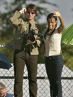 PEP RALLY! photo | Jada Pinkett Smith, Tom Cruise