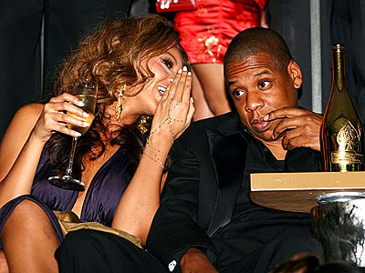BUBBLY RECEPTION  photo | Beyonce Knowles, Jay-Z