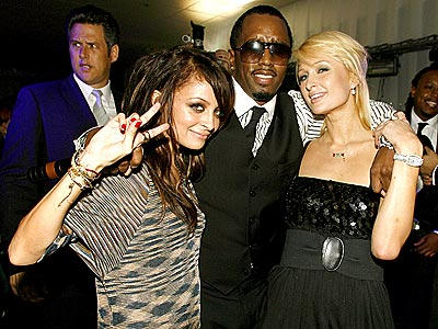 THEY'RE GAME photo | Nicole Richie, Paris Hilton, Sean \P. Diddy\ Combs
