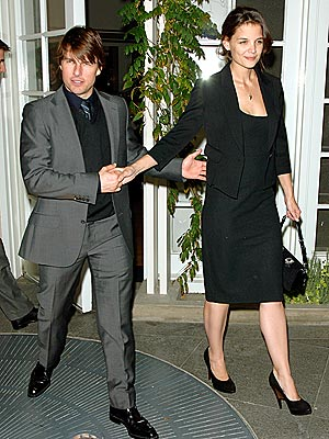 IN SYNC photo | Katie Holmes, Tom Cruise