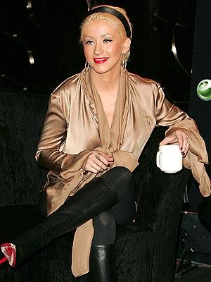 BUSINESS CASUAL  photo | Christina Aguilera
