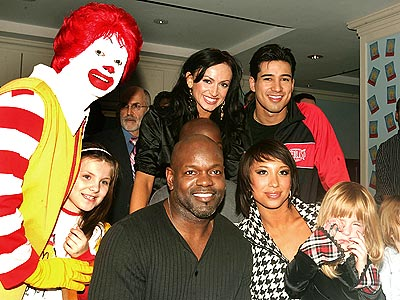 CHILD'S PLAY  photo | Emmitt Smith, Mario Lopez