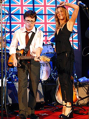 ALL-STAR JAM photo | Michael J. Fox, Sheryl Crow