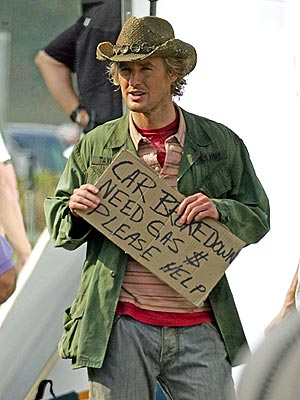 SPARE SOME CHANGE? photo | Owen Wilson