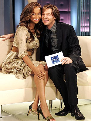 TRADING PLACES  photo | Clay Aiken, Tyra Banks