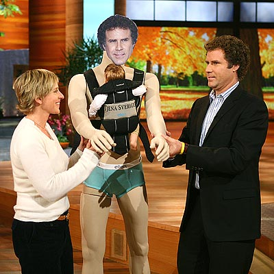 FATHER FIGURE  photo | Ellen DeGeneres, Will Ferrell