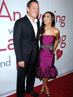 SOUTHERN CHARM photo | Eva Longoria, Lance Armstrong
