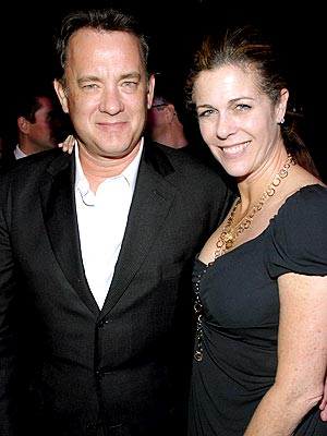 Tom Hanks free stock images and wife Rita Wilson play ... free stock images