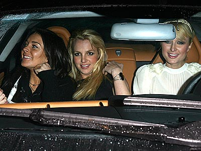 DRIVE, THEY SAID photo | Britney Spears, Lindsay Lohan, Paris Hilton