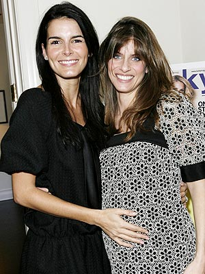 TUMMY RUB  photo | Amanda Peet, Angie Harmon