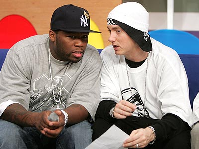 WORD 'UP' photo | 50 Cent, Eminem