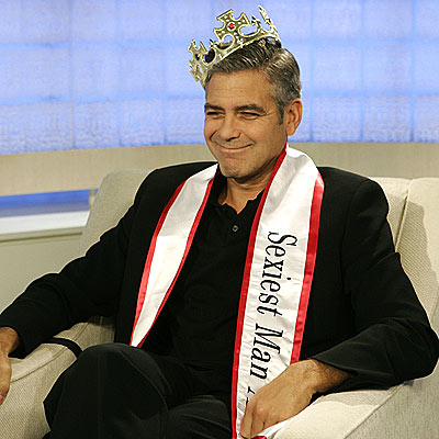 IT'S GOOD TO BE KING  photo | George Clooney