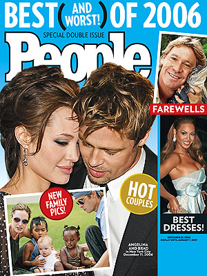 FAMILY OF THE YEAR photo | Angelina Jolie, Brad Pitt