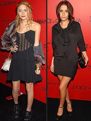 ashley olsen hairstyle. Mary-Kate and Ashley Olsen