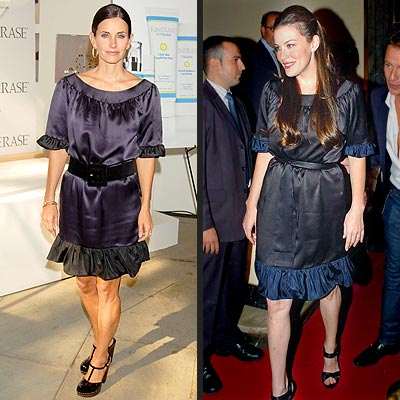 COURTENEY VS. LIV  photo | Courteney Cox, Liv Tyler