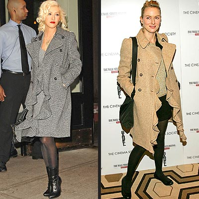 CHRISTINA VS. NAOMI photo | Christina Aguilera, Naomi Watts