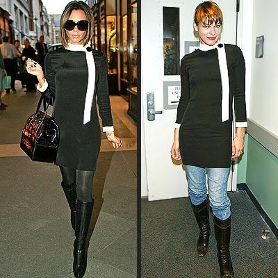 VICTORIA VS. MILLA photo | Milla Jovovich, Victoria Beckham