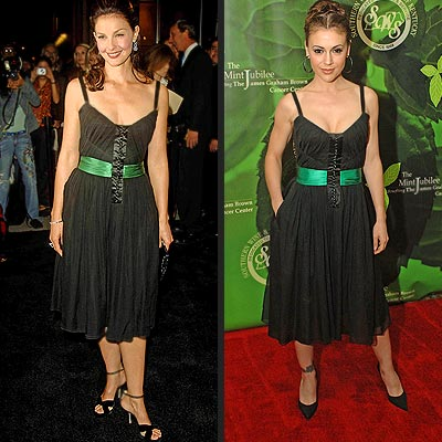 ASHLEY VS. ALYSSA photo | Alyssa Milano, Ashley Judd