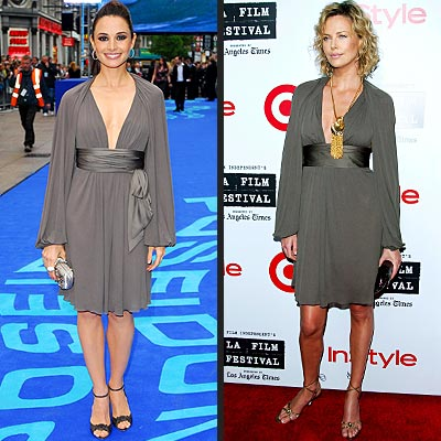 MIA VS. CHARLIZE photo | Charlize Theron, Mia Maestro