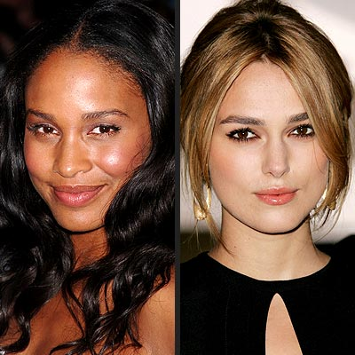 FASHION FORWARD photo | Joy Bryant, Keira Knightley