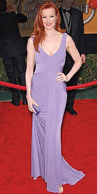 MOST FLATTERING COLOR photo | Marcia Cross