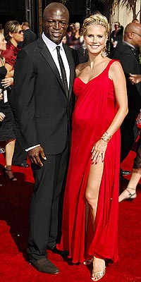 HEIDI KLUM AND SEAL photo | Heidi Klum, Seal