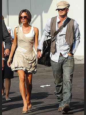 VICTORIA AND DAVID BECKHAM photo | David Beckham, Victoria Beckham