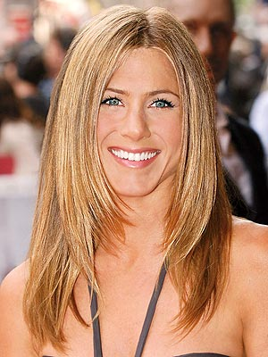 Celebrity Jennifer Aniston sedu hairstyles