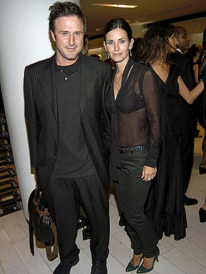 DAVID ARQUETTE AND COURTENEY COX photo | Courteney Cox, David Arquette