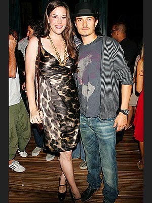 LIV TYLER & ORLANDO BLOOM  photo | Liv Tyler, Orlando Bloom