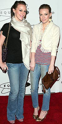 IN HER JEANS photo | Haylie Duff, Hilary Duff